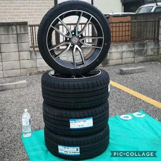ベンチ(Bench)の新品 タイヤホイール4本セット ベンツ Eクラス CLS W211W218 18(タイヤ・ホイールセット)