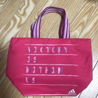 アディダス(adidas)のアディダス ピンク バッグ ハンドバッグ(ハンドバッグ)