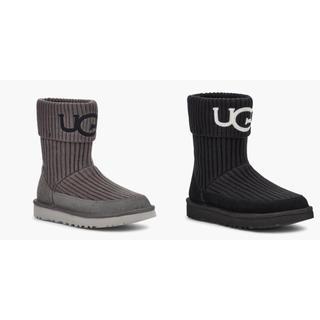 アグ(UGG)のUGG 新作 ニット ロゴ ブーツ(ブーツ)