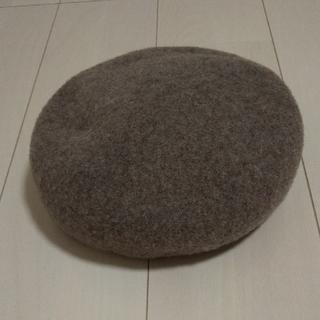 サマンサモスモス(SM2)の新品 杢バスクベレー帽(ハンチング/ベレー帽)