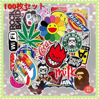 100枚セット★ストリート系★デザイン★防水ステッカー