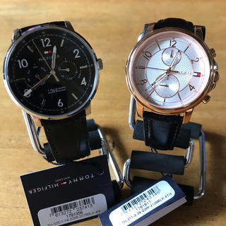 トミーヒルフィガー(TOMMY HILFIGER)のペア✨トミー ヒルフィガー クオーツ 腕時計 1791356 1781817(腕時計(アナログ))