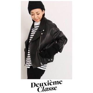 ドゥーズィエムクラス(DEUXIEME CLASSE)の新品♡ドゥーズィエムクラス♡PANライダースジャケット♡(ライダースジャケット)