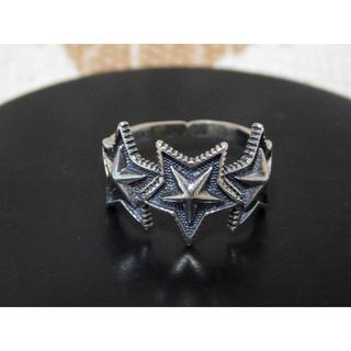 シルバーバレット スター リング フリーサイズ 星 指輪(リング(指輪))