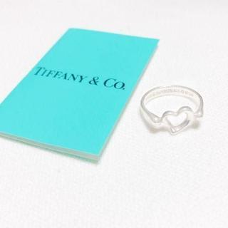 ティファニー(Tiffany & Co.)の☆新品☆未使用☆ティファニー センターオープンハートリング7号(リング(指輪))