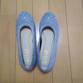 ヌォーボ(Nuovo)の【値下げ】靴 ローヒールパンプス フラットシューズ(その他)