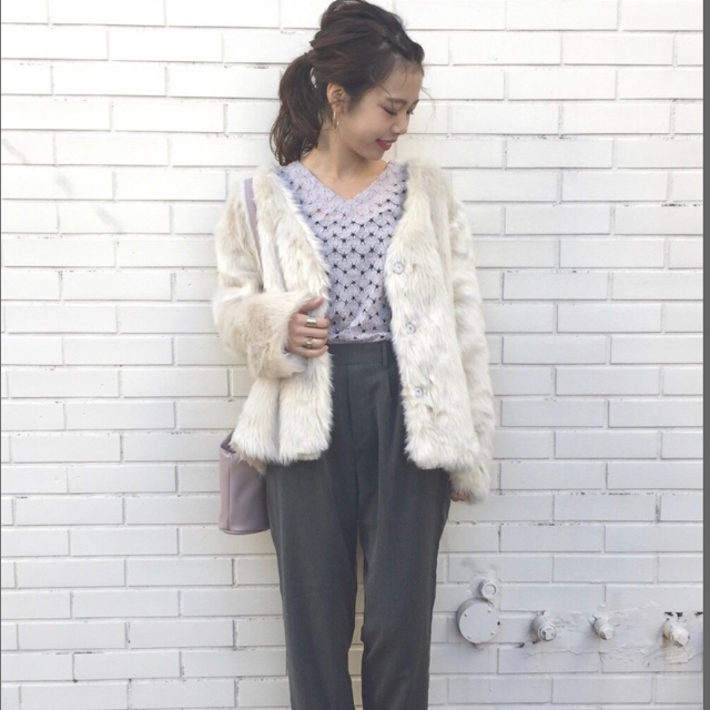 Kastane(カスタネ)のKastane ファーコート レディースのジャケット/アウター(毛皮/ファーコート)の商品写真