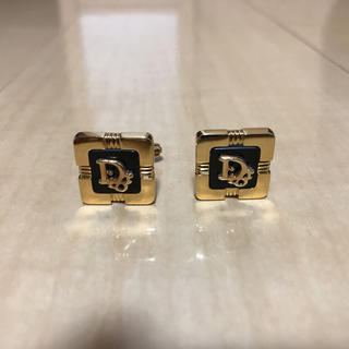 Christian Dior - Christian Dior ロゴ入り カフスボタン