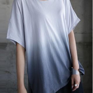 antiqua - ムラ染めTシャツ