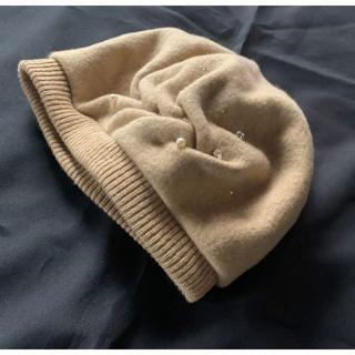 ANTEPRIMA - 日本製【アンテプリマ】煌めきビジュ付き可愛いウールベレー帽