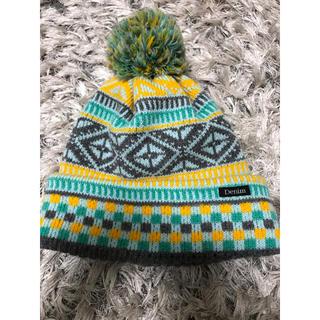 デニムダンガリー(DENIM DUNGAREE)のデニムアンドダンガリー ニット帽 キッズM(帽子)