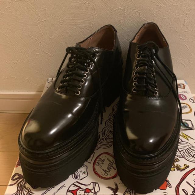 JEFFREY CAMPBELL(ジェフリーキャンベル)のジェフリーキャンベル 9ホール 厚底  レディースの靴/シューズ(ローファー/革靴)の商品写真