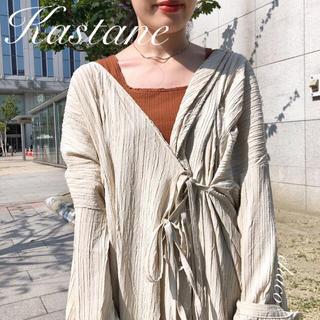 Kastane - AW新作¥7900【Kastane】ガウンワンピース カシュクールワンピ