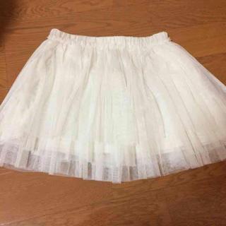 ローリーズファーム(LOWRYS FARM)のチュールスカート  ハロウィン 仮装大会 マラソン(ミニスカート)