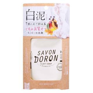 サボン(SABON)の【3個】サボンドロン リッチホワイトクレイソープ 110g 白泥(洗顔料)