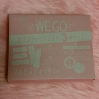ウィゴー(WEGO)のWEGOロマンティックコスメ3点セット(コフレ/メイクアップセット)