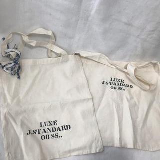 ジャーナルスタンダード(JOURNAL STANDARD)のジャーナルスタンダードLUXE エコバッグ2枚セット(エコバッグ)