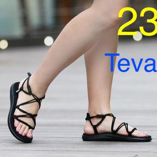 Teva - オレンジロゴ 23cm Teva VOYA INFINITY ボヤインフィニティ