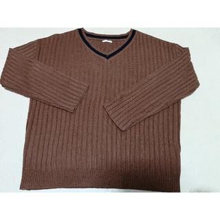 ジーユー(GU)のジーユーVネックニット(XL)(ニット/セーター)