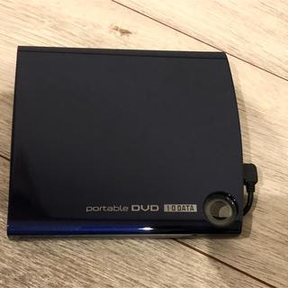 アイオーデータ(IODATA)のI-O DATAポータブルDVDドライブ「カクうすDVD」オリエントブルー(ポータブルプレーヤー)