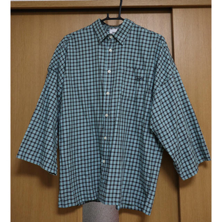 エックスガール(X-girl)のX-girl チェックシャツ(シャツ/ブラウス(長袖/七分))