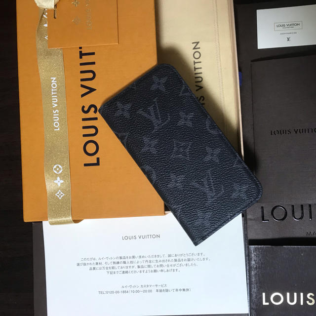 LOUIS VUITTON - 美品※LOUIS VUITTON※エクリプスフェリオ iPhoneX XSケースの通販