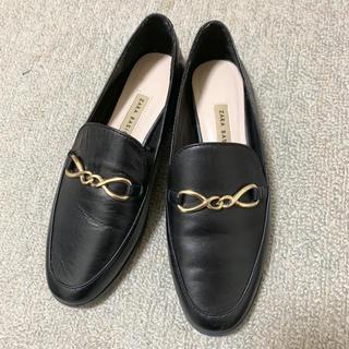ザラ(ZARA)のZARA 本革 ローファー(ローファー/革靴)