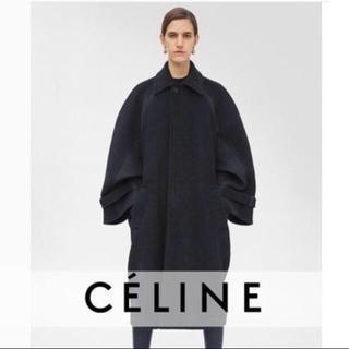 セリーヌ(celine)の最終値下 新品 45万 セリーヌ CELINE オーバーサイズコート 34(ロングコート)