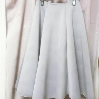 リルリリー(lilLilly)のリルリリー ボリュームスカート シミ有激安!(ひざ丈スカート)