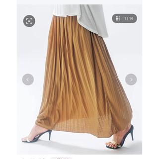 ジーユー(GU)のプリーツスカート ranan(ロングスカート)