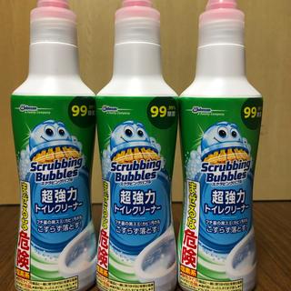ジョンソン(Johnson's)のスクラビングバブル 超強力トイレクリーナー(洗剤/柔軟剤)