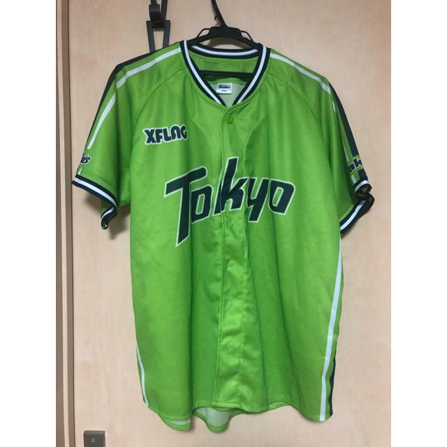 東京ヤクルトスワローズ(トウキョウヤクルトスワローズ)のヤクルト ユニフォーム スポーツ/アウトドアの野球(応援グッズ)の商品写真