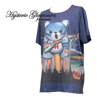 ヒステリックグラマー(HYSTERIC GLAMOUR)のヒステリックグラマー BEAR  CITY   クマ ビッグTシャツ Tシャツ(Tシャツ(半袖/袖なし))