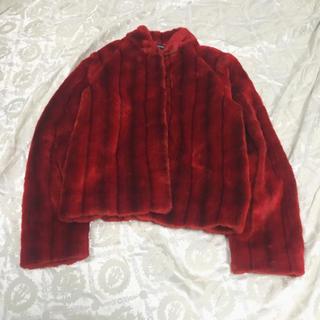 ロキエ(Lochie)の専用 USA vintage ファージャケット エコファー DEPT (毛皮/ファーコート)