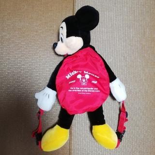 ミッキーマウス(ミッキーマウス)のディズニー ミッキー リュック レトロ ぬいぐるみ(リュックサック)