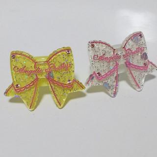 アンジェリックプリティー(Angelic Pretty)のAngelic Pretty ときめきリボンリング2個セット(リング(指輪))