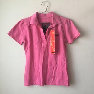 ヒュンメル(hummel)のhummel ヒュンメル レディース ポロシャツ ピンク スポーツ ウェア(ポロシャツ)