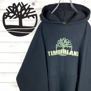 Timberland - 【レア】ティンバーランド☆ビッグロゴ入りパーカー 定番カラー ゆるダボ