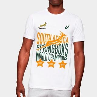 アシックス(asics)のラグビーワールドカップ 南アフリカ優勝記念Tシャツ(ラグビー)