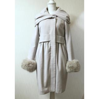 ダブルスタンダードクロージング(DOUBLE STANDARD CLOTHING)のSov.✨ファー袖コート(毛皮/ファーコート)