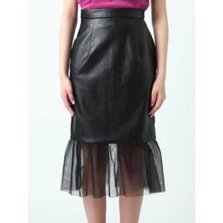 イートミー(EATME)のEATME チュールコンビスカート(ひざ丈スカート)