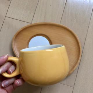 最終値下げ【新品】Plump cafe* カップ&ソーサー 2個セット(グラス/カップ)