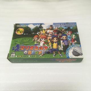 ゲームボーイアドバンス(ゲームボーイアドバンス)の任天堂 マリオゴルフGBAツアー ゲームボーイ アドバンス GBA(家庭用ゲームソフト)