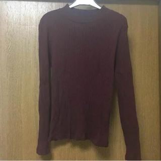 ジーユー(GU)のリブハイネックT(Tシャツ(長袖/七分))