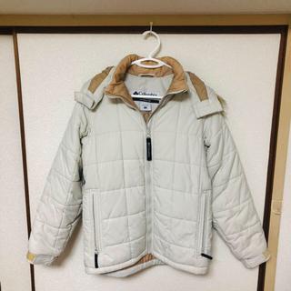 コロンビア(Columbia)の☆Columbia 中綿フードジャケット レデース S〜M(ブルゾン)