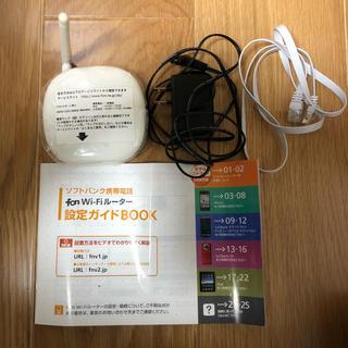 エヌイーシー(NEC)のfon ルーター  Wi-Fi  ワイファイ  通信  ソフトバンク パソコン(PC周辺機器)