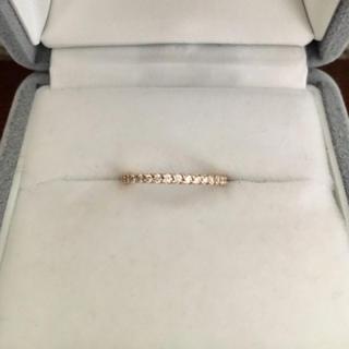 ポンテヴェキオ(PonteVecchio)のポンテヴェキオ ダイヤモンド エタニティ リング K18PG 0.15ct(リング(指輪))