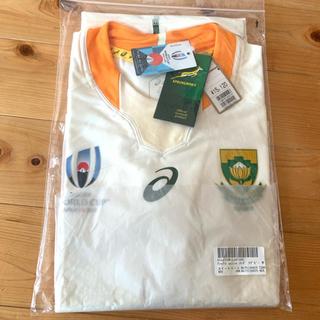 アシックス(asics)のラグビー 南アフリカ ジャージ 新品未使用 Tシャツ ユニフォーム Lサイズ(ラグビー)