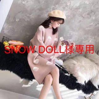 SNOW DOLL様専用(ひざ丈ワンピース)