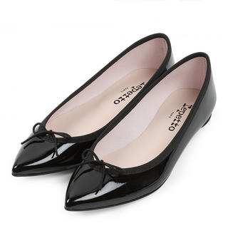 repetto - Patent leather Black